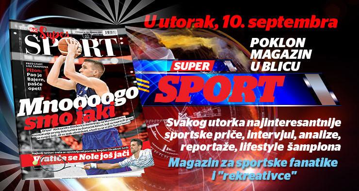 Super sport magazina