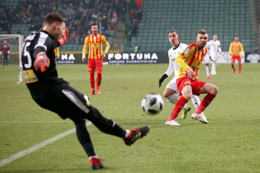 Pilka nozna. Ekstraklasa. Legia Warszawa - Korona Kielce. 01.12.2018