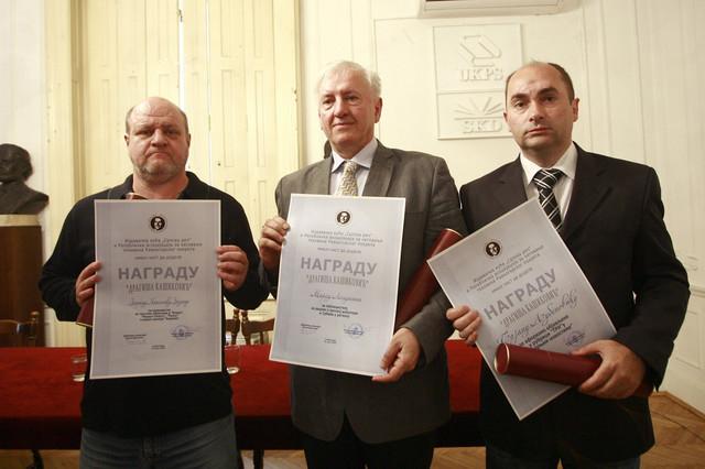 Zoran Nikolić, Marko Lopušina i Bojan Ljubenović