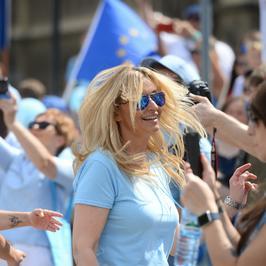 Martyna Wojciechowska poszła z córką na marsz ONZ. Ale ona tańczy!