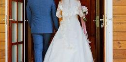 Niezwykły ślub. Panna młoda doczołgała się do ołtarza