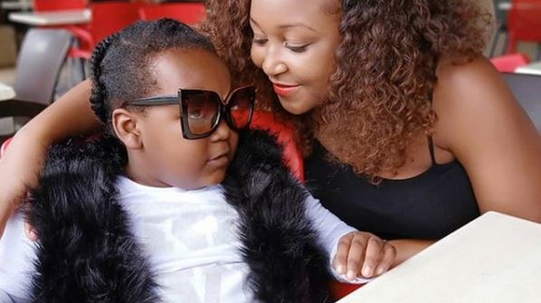 Betty Kyallo with daughter Ivanna