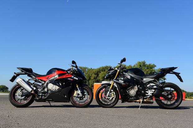 BMW S1000RR vs BMW S1000R