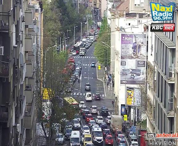 Zastoj u Takovskoj ulici