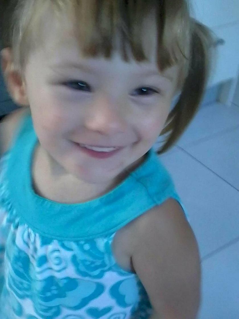 Carl Wheatley śmiertelnie pobił 4-letnią córkę