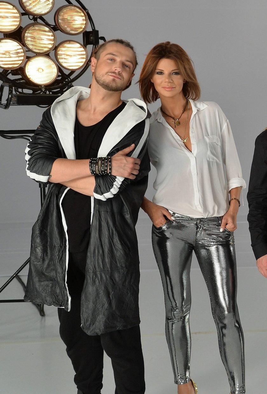 Baron i Edyta Górniak