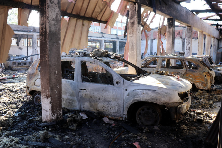 Požar, Jagodina, DZ, vozni park