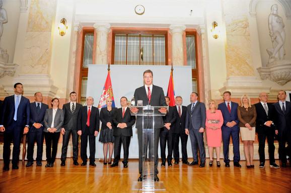 Premijer i ministri u Vlada Srbije