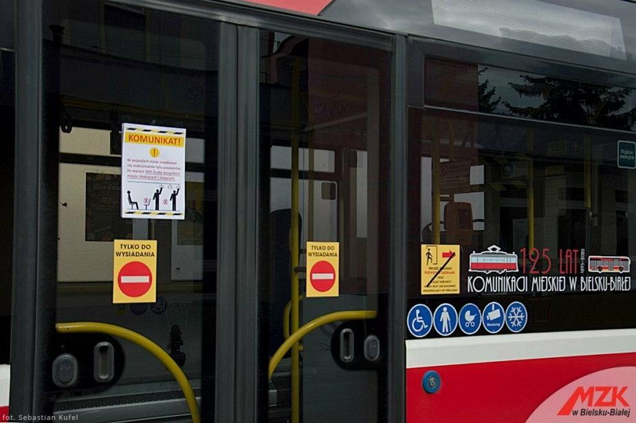 W autobusach limity pasażerów