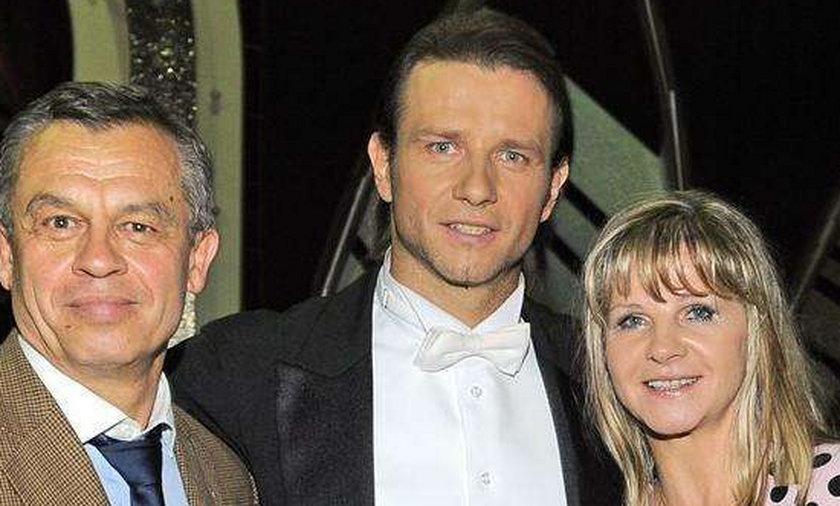 Majdan z rodzicami