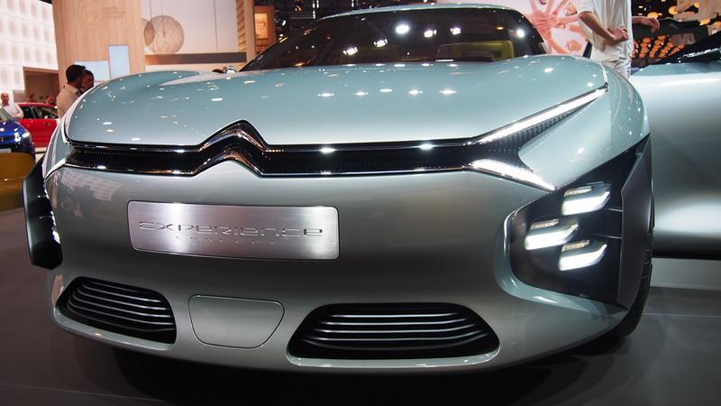 Citroen Cxperience Concept (Targi Paryż 2016)