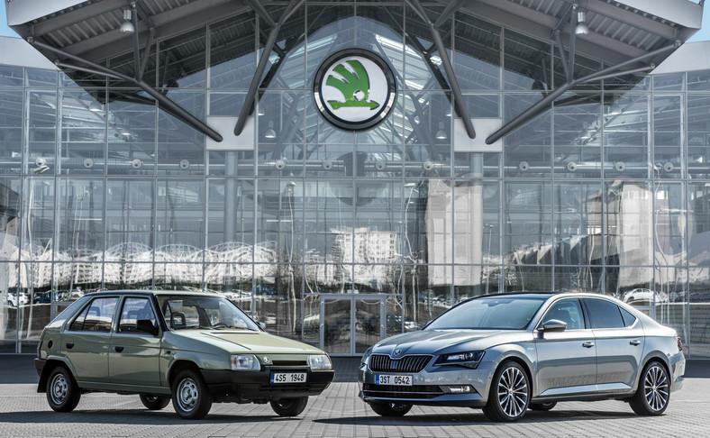 """W 1987 roku Petr Hrdlicka zaprezentował przedstawicielom marki w Wolfsburgu prototyp przednionapędowego modelu favorit. 28 marca 1991 roku Czesi i Niemcy podpisali kontrakt, w ramach którego """"SKODA automobilová akciová společnost"""" stała się częścią Grupy Volkswagen."""