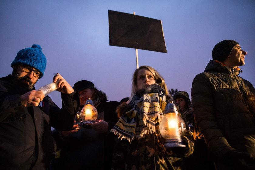 Demonstracje po śmierci Jana Kuciaka