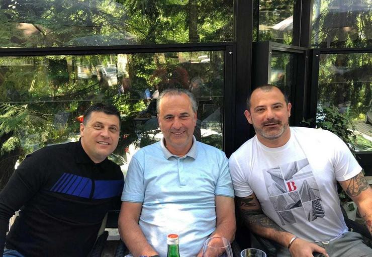 Vladan Milojević, Miodrag Božović i Dejan Stanković