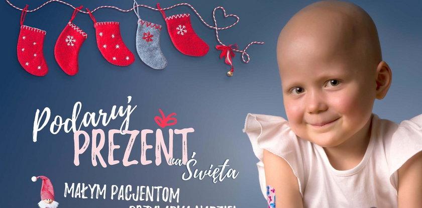 Podaruj prezent dziecku choremu na raka.Wielka akcja na Święta!