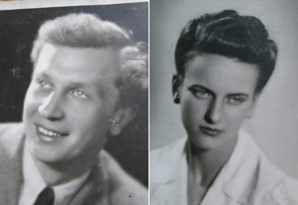 Andrzej Malinowski ps. Włodek i Urszula Kurkowska (Katarzyńska)