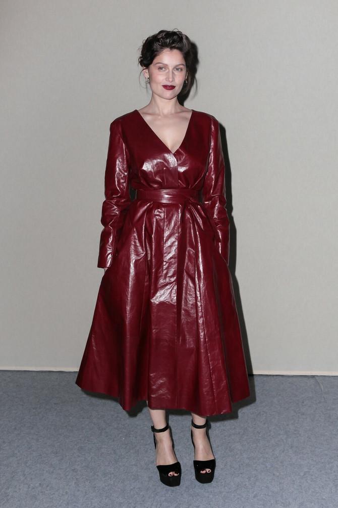 Glumica pre nekoliko nedelja na Pariskoj nedelji mode