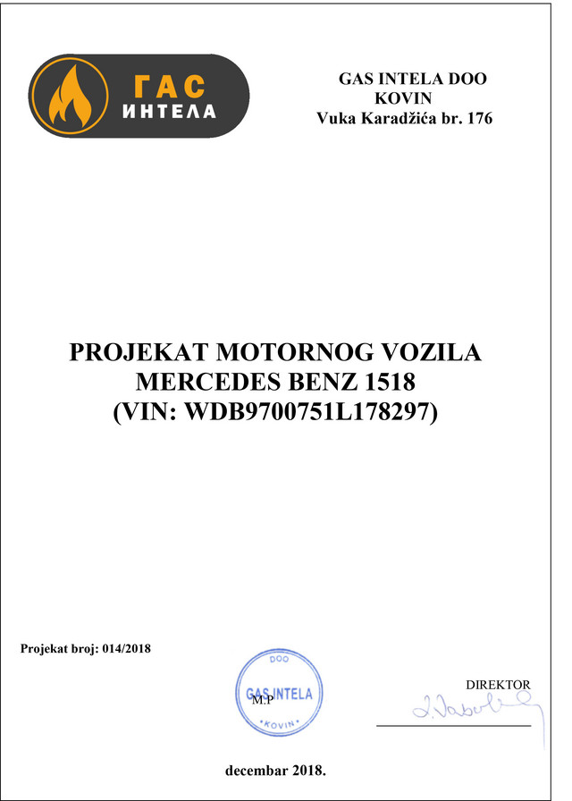 Potpis Dragane Lazović, Ivanove majke, na jednom od projekata motornih vozila, koji je kasnije odobrio njen sin kao rukovodilac sektora za proveru kvaliteta