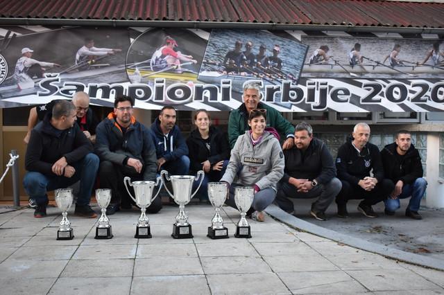 Stručni štab Veslačkog kluba Partizan
