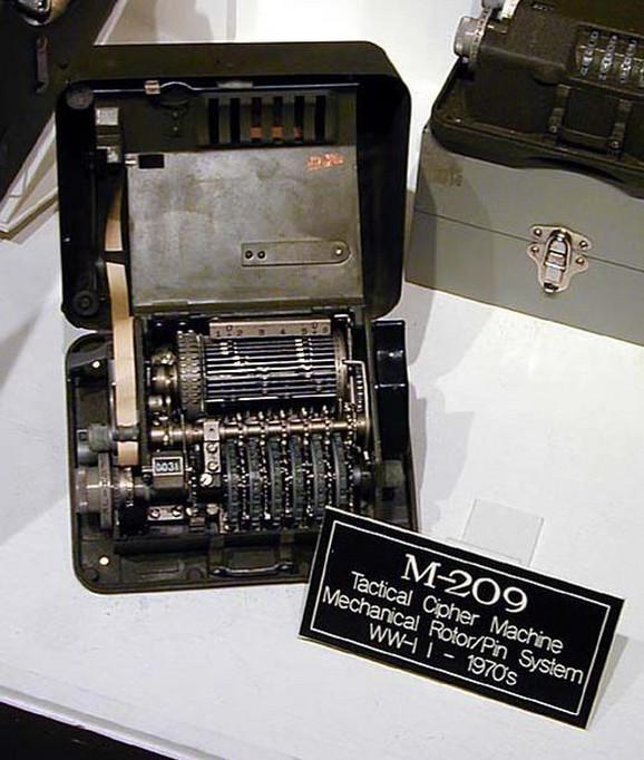 Mašina za šifrovanje M-209