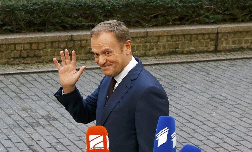 Donald Tusk, szef Rady Europejskiej