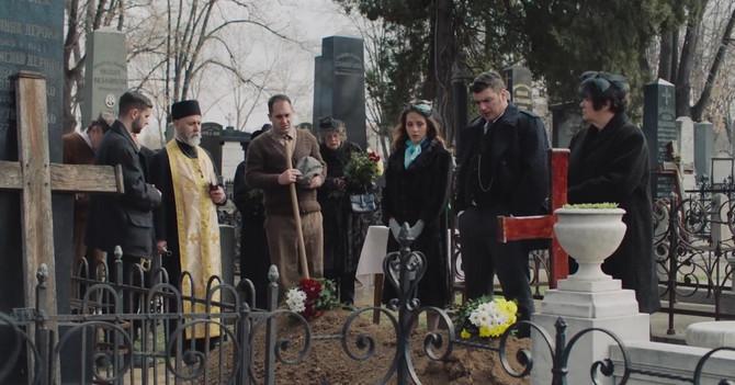 Scena sahrane u drugoj sezoni serije Senke nad Balkanom