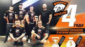 Polscy zawodnicy Counter-Strike'a przedłużyli kontrakt z Virtus.Pro na cztery kolejne lata