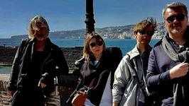 Modowa śmietanka razem na wakacjach na Capri