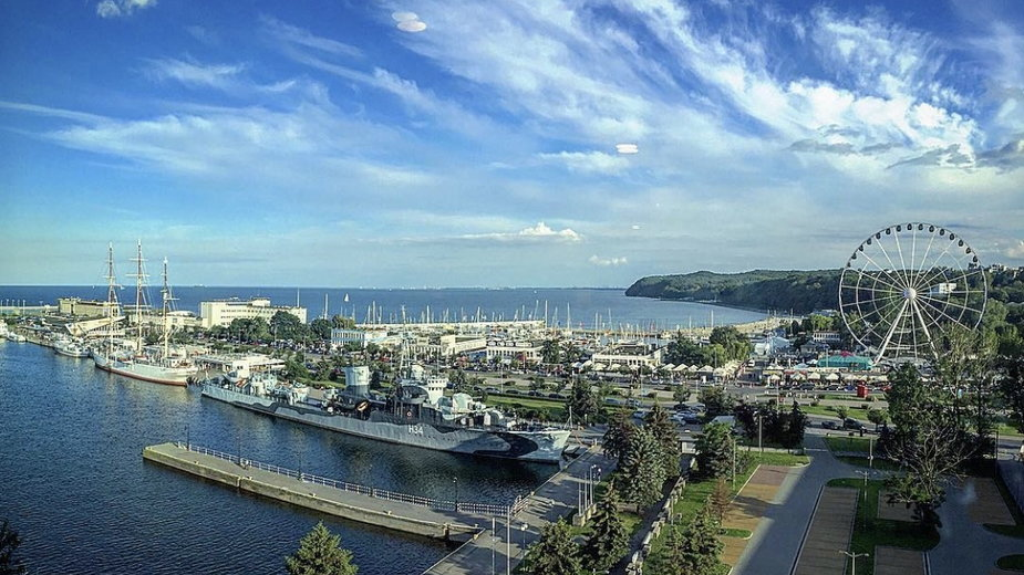 Gdynia staje się coraz bardziej popularną międzynarodową destynacją turystyczną.