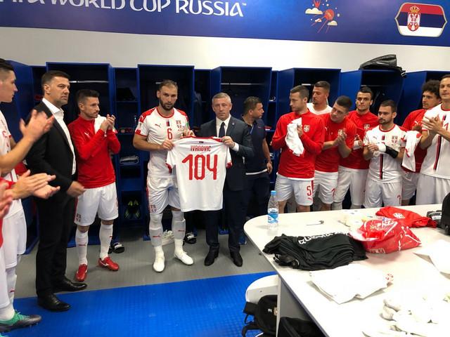 Branislav Ivanović je dobio dres sa brojem 104