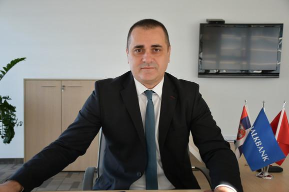 Miloš Gostiljac, direktor službe za upravljanje depozitima u Halkbanci