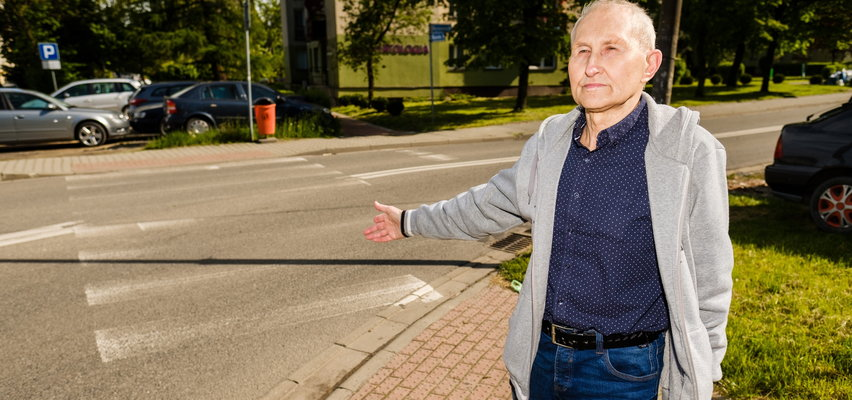 Wymalujcie te przejścia dla pieszych! Zebry na pasach w Katowicach-Giszowcu są niewidoczne!