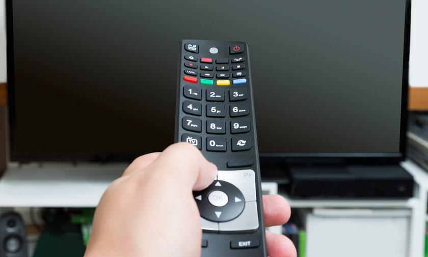 Wyłączony telewizor