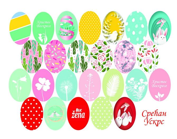 """U subotu 27. aprila uz """"Blic ženu"""" poklon sličice za jaja"""