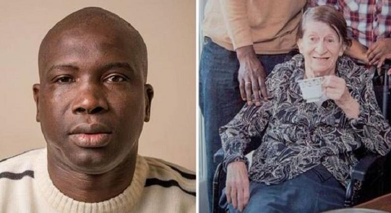 Ousman Jatta and wife, Berryl