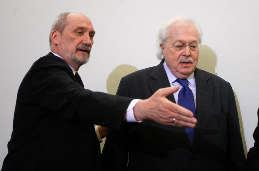 Antoni Macierewicz i Michael Baden
