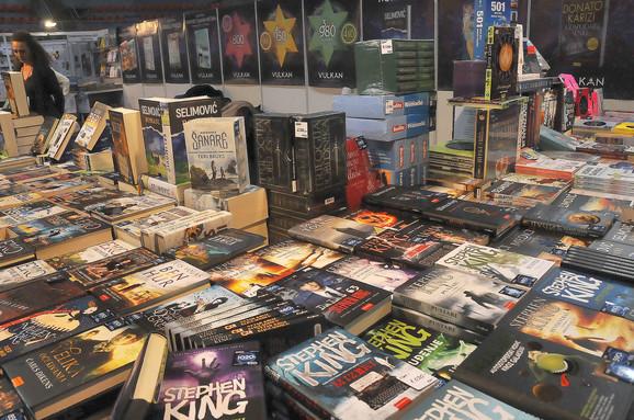 Povoljnije cene knjiga na Božićnom sajmu