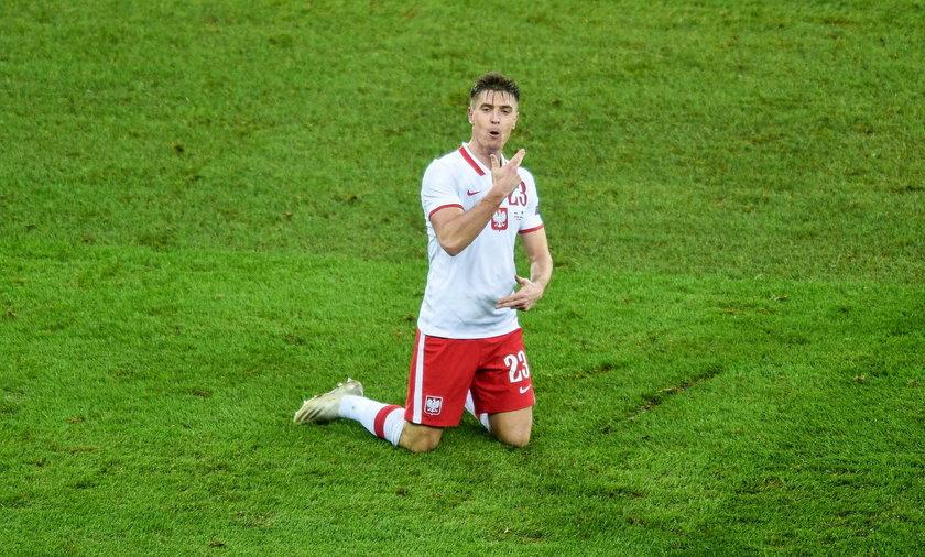 Najpierw były gol i asysta w ligowym meczu pańskiej Herthy z Augsburgiem, teraz bramka w reprezentacji, z Ukrainą.