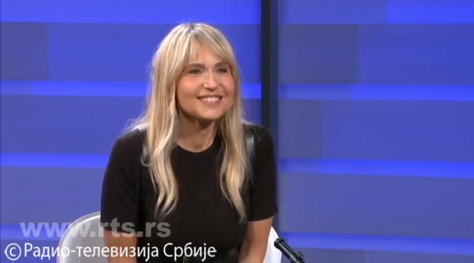 Anica Dobra na televizijskim ekranima