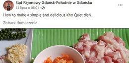 Kuriozalny atak na polski sąd zupką pho i wołowiną w pięciu smakach