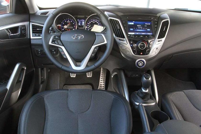 Hyundai Veloster: niesymetryczny i ekstrawagancki