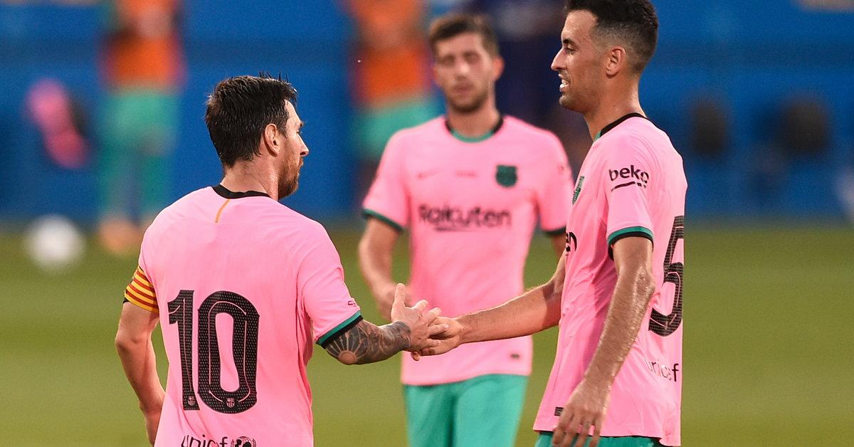 Leo Messi strzela, FC Barcelona wygrywa | Piłka nożna - Sport