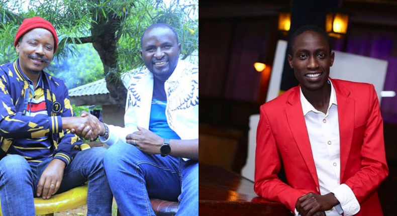 Comedian  Njoro, Jeremy and Dennis Mutura