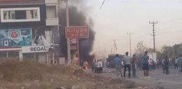 Eksplozja bomby przed szpitalem. Dziesiątki rannych