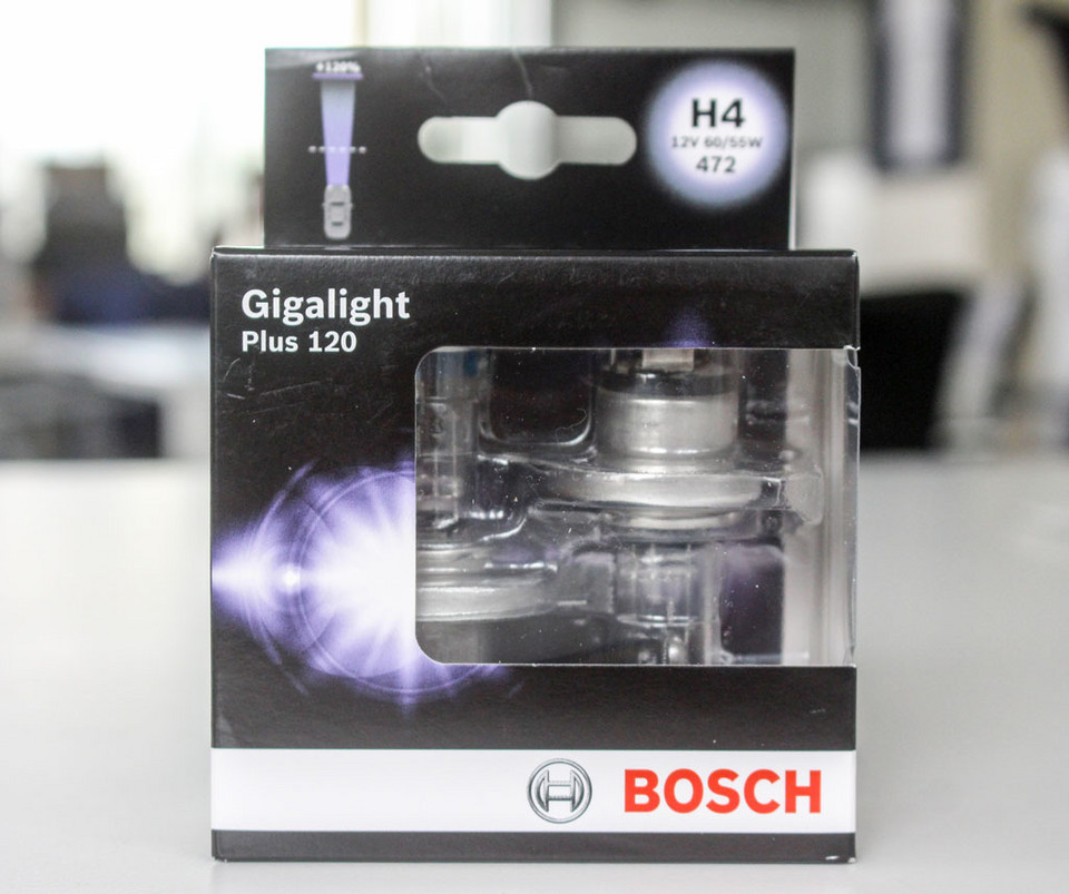Bosch Gigalight Plus 120 цена 57 зл / комплект