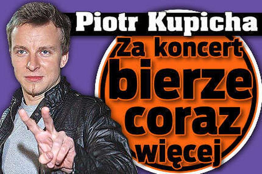 Piotr Kupicha. Za koncert bierze coraz więcej