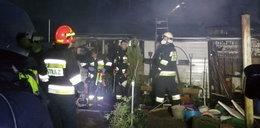 Budynek mieszkalny doszczętnie spłonął. Jedna osoba nie żyje