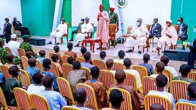 Buhari says abduction of schoolboys meant to embarrass his administration