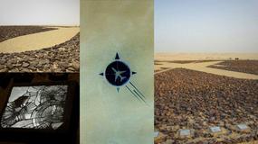 Monumentalny pomnik ofiar katastrofy samolotu UTA 772 na Saharze w Nigrze