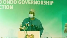 INEC Chairman, Prof. Mahmood Yakubu. [Twitter/@inecnigeria]